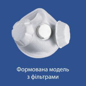 Формована модель з фільтрами